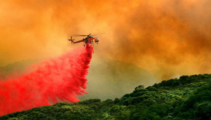 На севере Калифорнии бушует рекордный лесной пожар