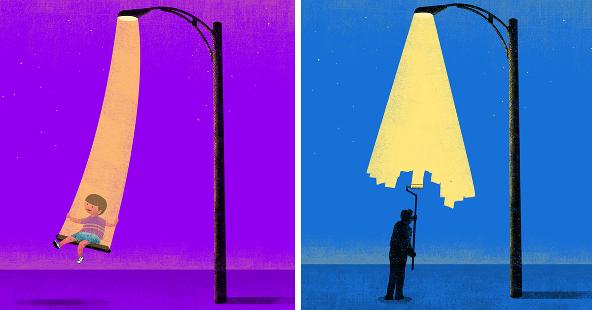I Imagine Lights In A Surreal Way, And Make Them Come To Life In These Conceptual Illustrations (15 Pics)