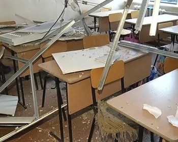 В школе под Екатеринбургом рухнул потолок. Прокуратура начала проверку