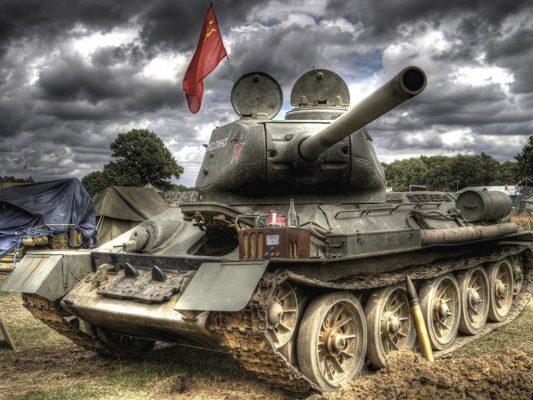 Неизвестная история из Донбасса: ополченцы завели Т-34 и поехали громить ВСУ