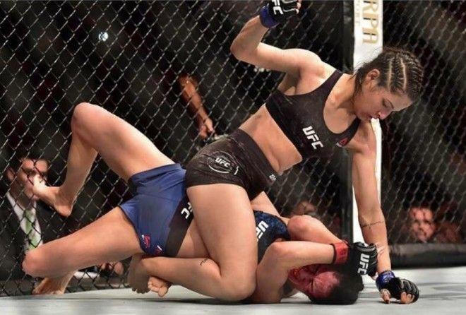 Ее зовут Поллианна Виана и она успешный боец UFC.