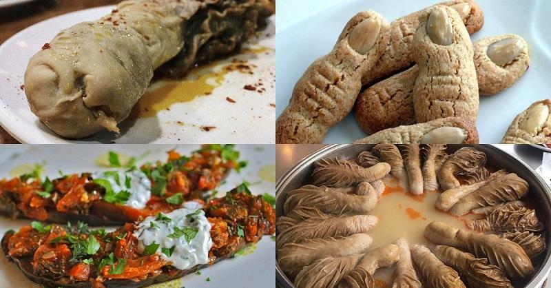 блюда турецкой национальной кухни