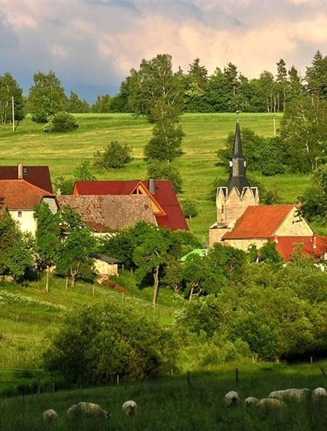 Тюрингия - Зеленое сердце Германии