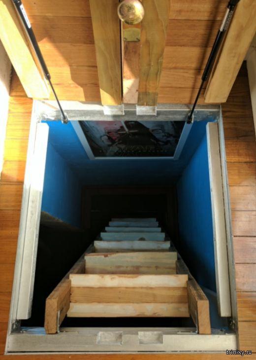 Интересное идея использования подвала в частном доме