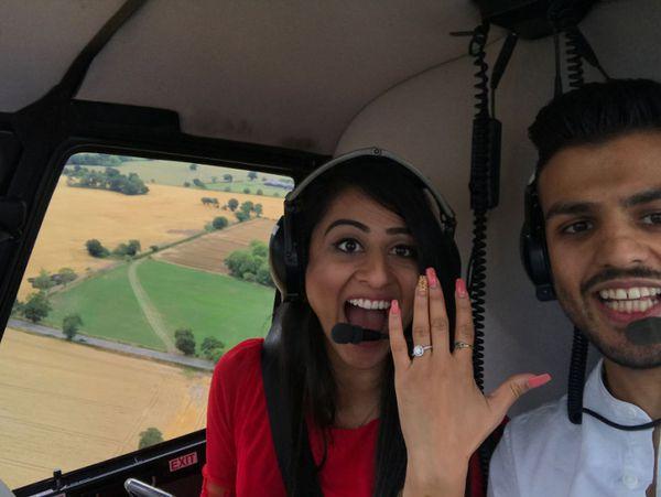 Увидев это, она сказала «да», без всяких раздумий!