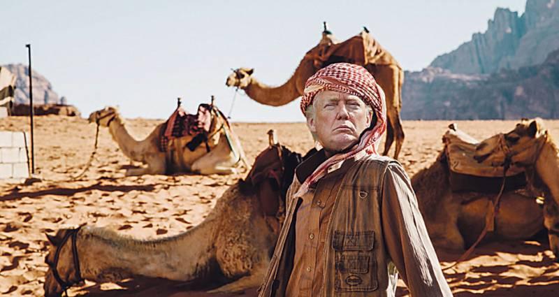 Трамп в пустыне