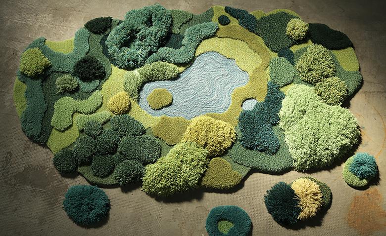 Ландшафтные ковры Александры Кехайоглу