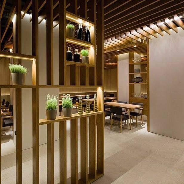 Так же перегородки идеально подойду для разделения кухни от общей комнаты.