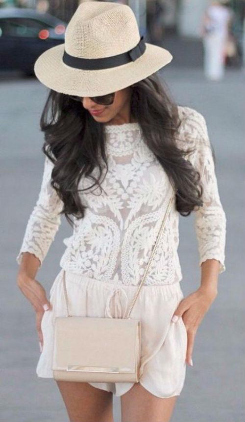 Как нельзя лучше для лета — кружевные блузы