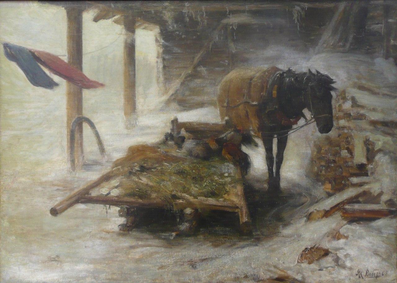 Покуда есть на свете Волга... Художник Яков Яковлевич Вебер (1870-1958)