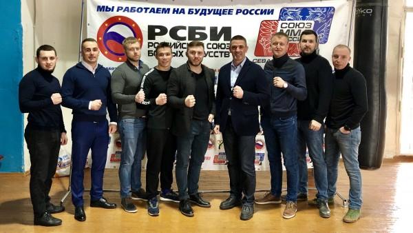 Бойцы ММА в Севастополе