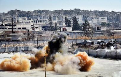 Жертвами взрывов в Дамаске стали не менее восьми человек