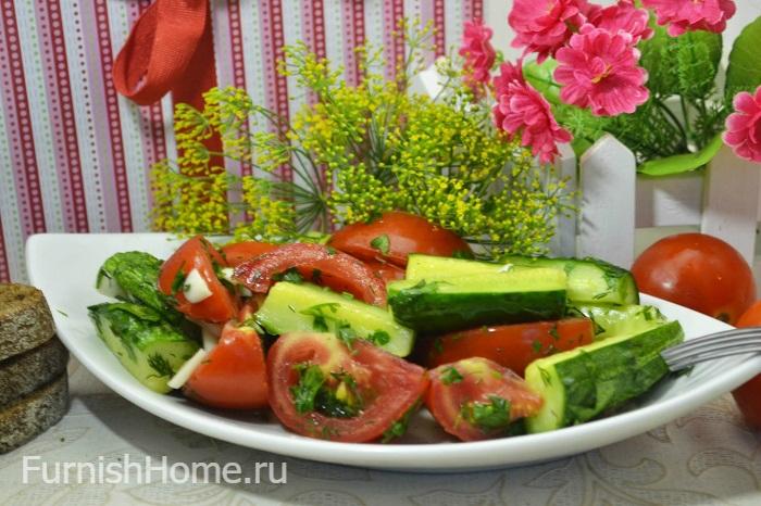 Малосольные огурцы и помидоры в пакете. Попробуйте обязательно!