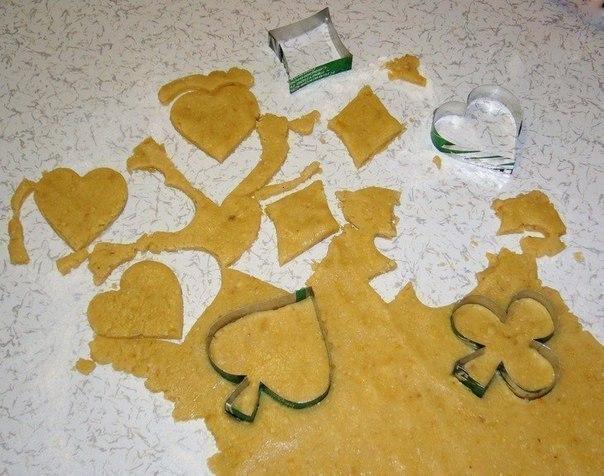 Формочки для печенья своими руками фото