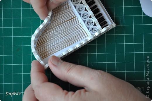 Мастер-класс Квиллинг: ЕЩЁ РАЗ ПРО...Пошаговый мастер-класс Бумажные полосы. Фото 36