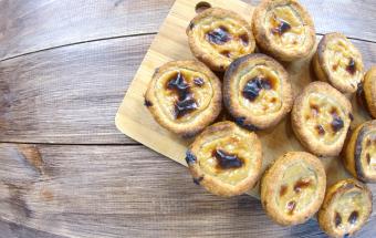 Паштейш де Ната португальское пирожное