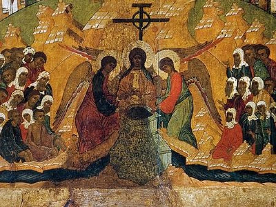 14 августа - Происхождение (изнесение) честных древ Животворящего Креста Господня. Начало Успенского поста.