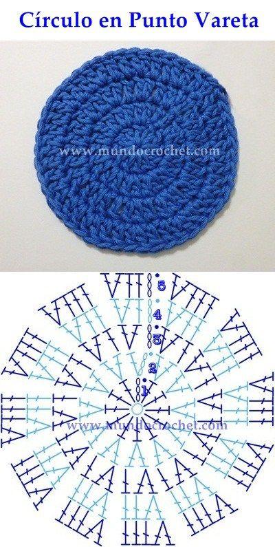 as a perfect circle crochet knitting or crocheting 10