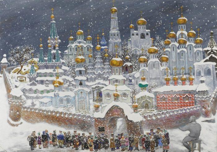 художник Василий Ситников картины - 10