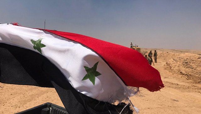 В провинции Дераа подняли сирийский флаг над бывшим оплотом боевиков