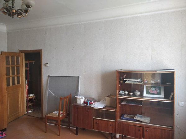 Соединили кухню с гостиной в сталинке. Фото до и после