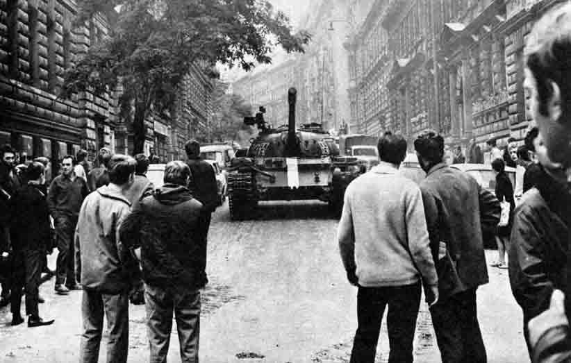 Август 1968 года. Чехословакия.