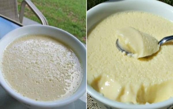 Воздушный крем-десерт всего за 5 минут
