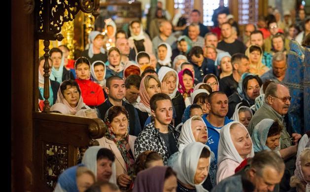 Одесские православные помоли…