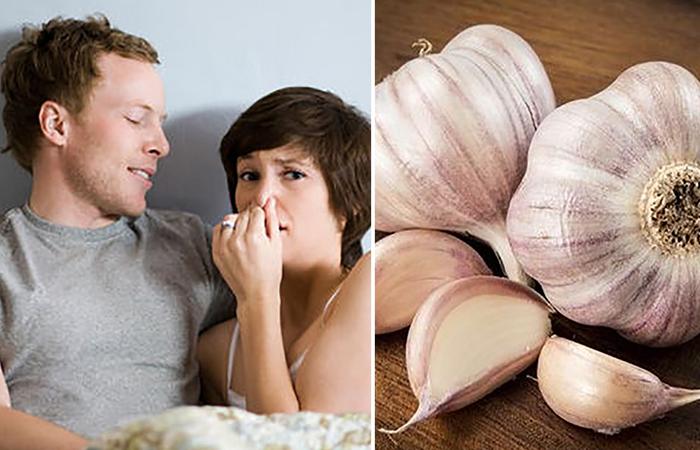 Как избавиться от запаха чеснока