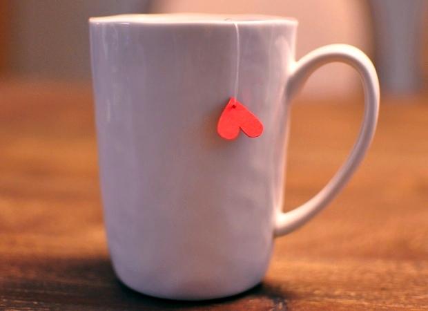 Чай для любимого своими руками