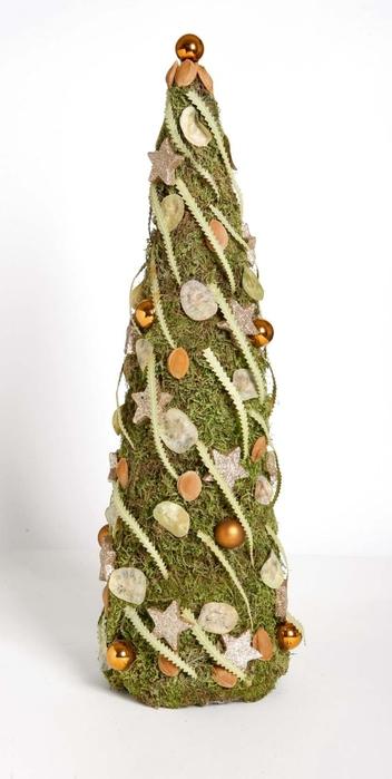 рождественский венок из грецких орехов (21) (352x700, 112Kb)