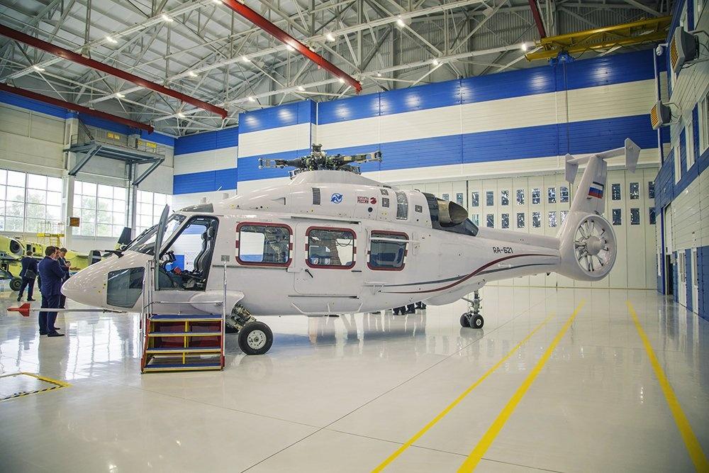 Ка-62 готовится к предварительным летным испытаниям