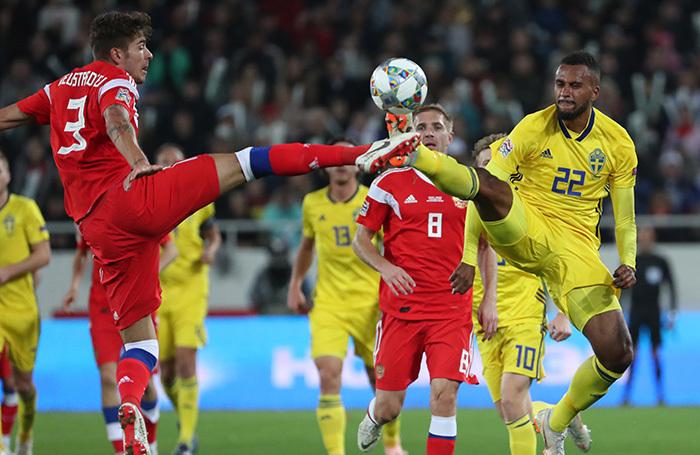 Сборная Швеция оказалась для России тяжелым и мотивированным соперником