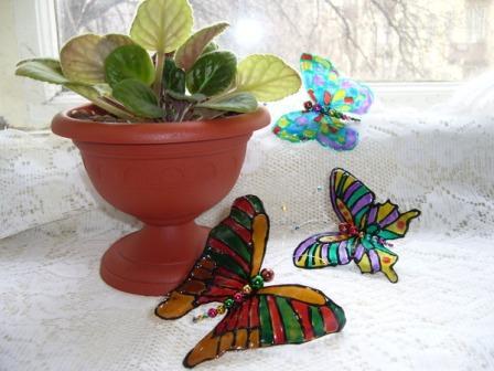 Делаем бабочек своими руками