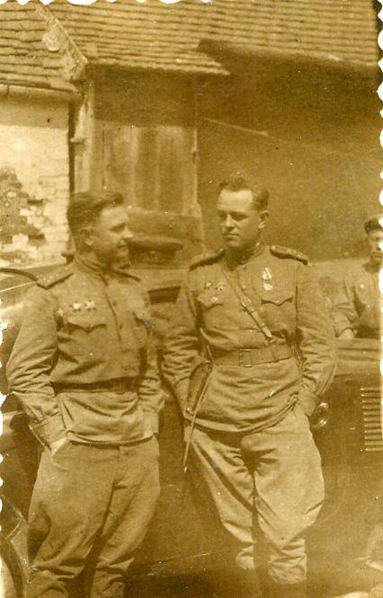 Константин Васильевич Уваров. 1944-й и 1945-й
