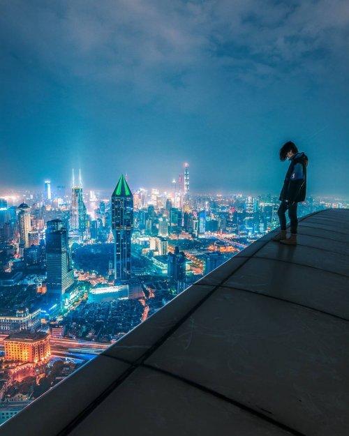 Ночной Шанхай в фотографиях …