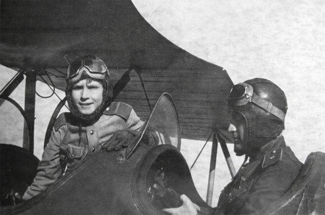 Самый юный лётчик. 14-летний…