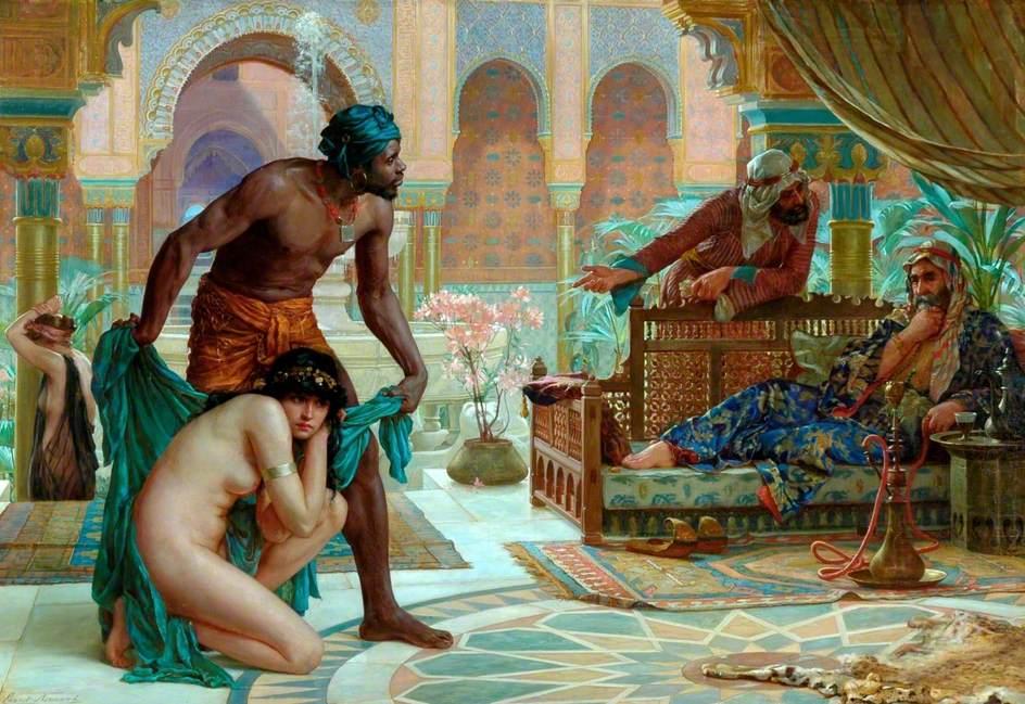 Английский художник Эрнест Норманд.