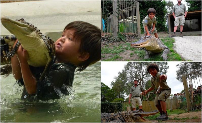 Мальчик, который живет с крокодилами и другими рептилиями