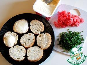 Бутерброды с имбирем Розовый фламинго ингредиенты