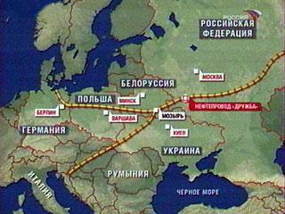 Украина намерена конфисковать российской нефтепровод