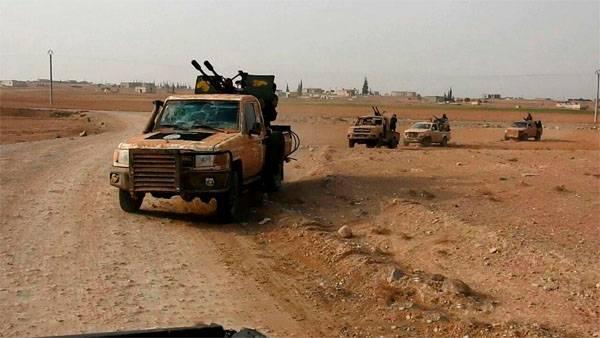 Курды перешли в контрнаступление на востоке Сирии