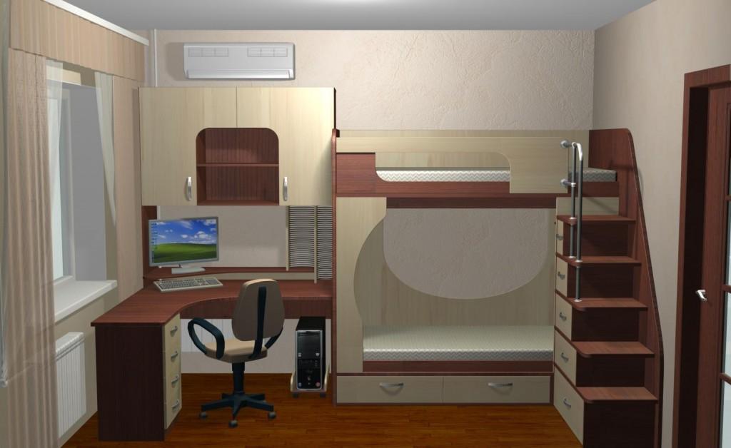 Спальня 6 м дизайн