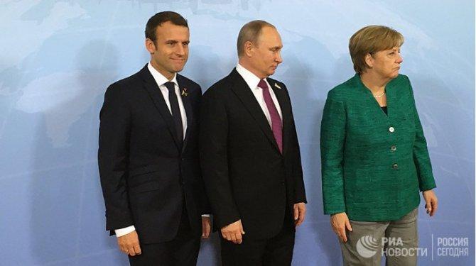 """Макрону и Меркель предложили создать """"нефтеевро"""". Без Москвы не обойтись"""