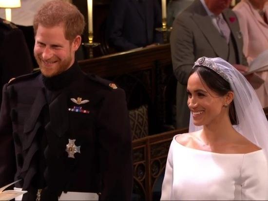 Принц Гарри обвенчался с Мег…