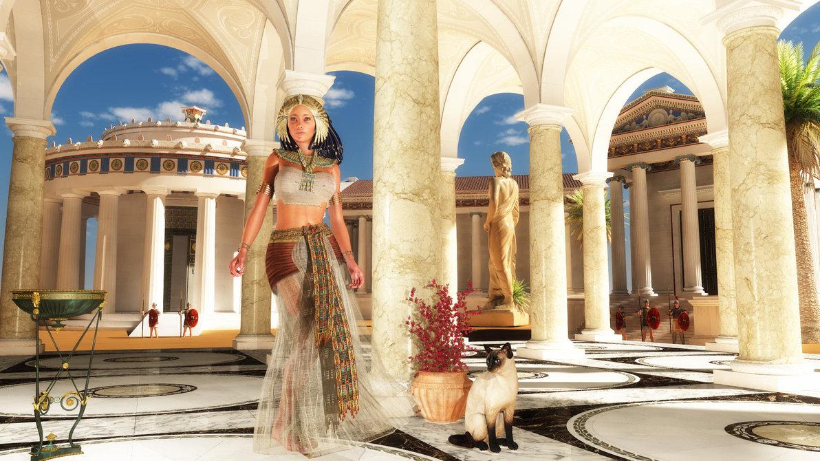 Секреты красоты от Клеопатры