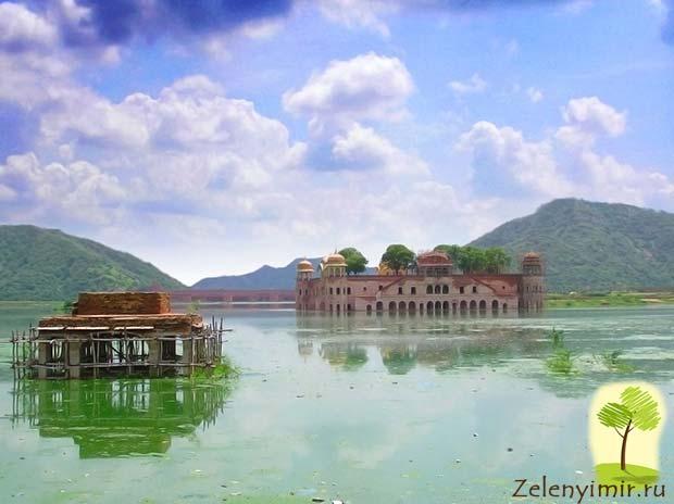 Джал-Махал - дворец на воде в Джайпур, Индия - 3