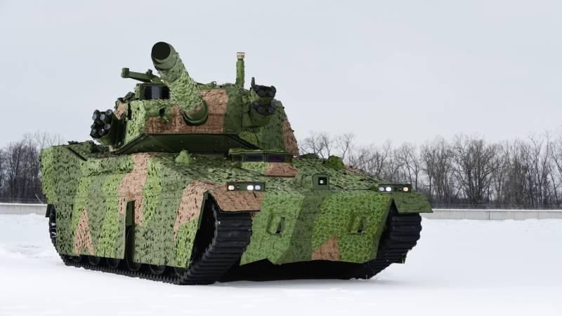 Warrior Maven: армия США планирует построить прототип «лёгкого танка»