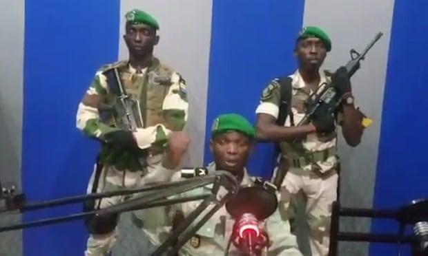 В Габоне переворот
