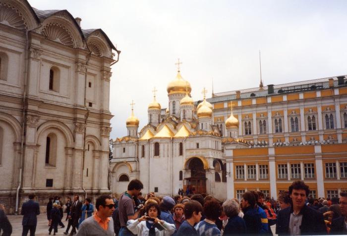 Благовещенский собор. СССР, Москва, 1985 год.